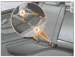 fixation siege auto isofix audi a4 avant notice d utilisation fixation d un siège pour
