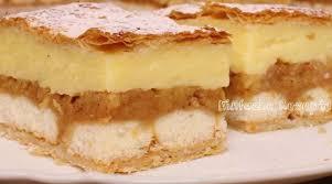apfel pudding kuchen mit blätterteig einfache rezepte