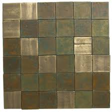 eco friendly flooring recyled brass tile swatch