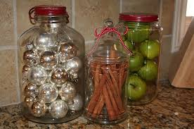 Kitchen Jars With Christmas Decorations Add Festive Glint To The Room Design 320 Sycamore