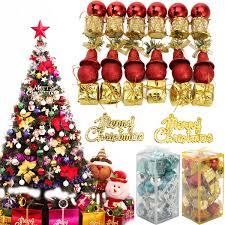 Christmas Tree Baubles Uk Harambeeco