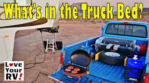 Fifth Wheel Towing - What's In Our Truck Bed? - YouTube