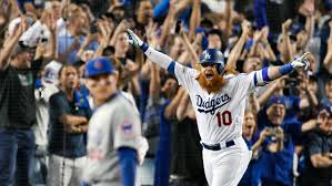 Jon Zimmerman Front Desk by Mlb Playoffs Justin Turner Hits Walk Off Hr To Give Dodgers 2 0
