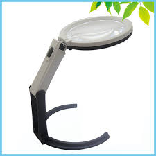 Desktop Magnifying Lamp Canada by Aliexpress Com Buy 2x 5x Table Magnifier Led Lighted Magnifying