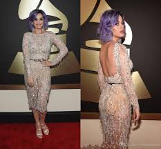 see through long sleeve katy perry evening dresses beads lace
