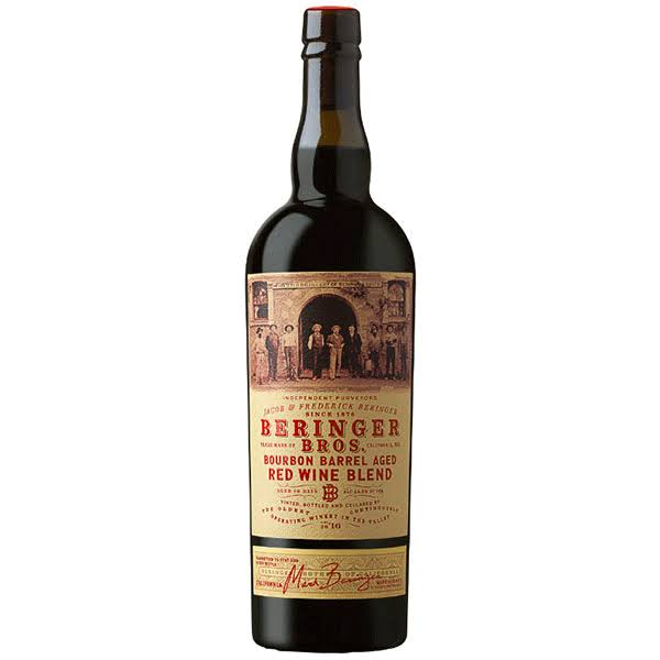 Beringer Bros. Bourbon Barrel Aged Red Wine Blend 2016 750ml