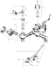 Mop Sink Faucet Vacuum Breaker Leaking by American Standard 8355 101 002 Parts List And Diagram