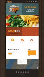 100 Food Truck Industry Websites Done Right Live Template Demo By Intelprise