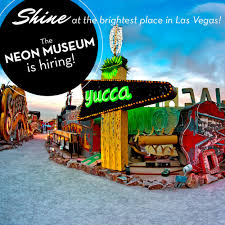 The Worldrenowned Neon Museum Is Hiring InterpretersTour Guides