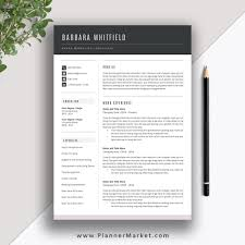Want Your Resume Stand Out? Try This Beautiful Resume Template With  Matching Cover Letter, References Template: The Barbara Resume 25 Examples References Resume Template 7k Free Example 10 Of Professional Letter Templates Page When Sample 17 Samples Format Rumes Format Best Should Reference Sheet For How To Job Make Resume Ferences Mplate List Samplermat Uk In Guide Many Simple Cv Mplates Forjob Application Cover 1 2 3 Word Design Elegant Alice On Nursing