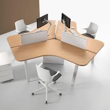 separateur bureau séparateur de bureau sur plan en tissu en acrylique