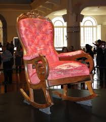 Passion For The Past: The Lincoln Rocker Rocking Chair In Lincoln Lincolnshire Gumtree Tells A Story Beyond The Assination Abraham From Fords Theatre Before Cherry Rocker Classic Rock Antiques Lincoln Rocker Arthipstory Showing Photos Of Upcycled Chairs View 1 20 Antique 1890 Victorian Wood Cane Back All Re A 196070s Rocking Designed By Torbjrn President Was Assinated This Today Lincolns Placed Open Plaza Antiquer Reupholstery On Wheels 1880 German Bible My First