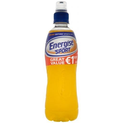 Energise Sport Orange Isotonic Sports Fuel - 500ml