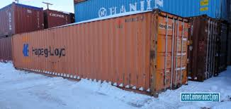 Corten Steel Shipping Container