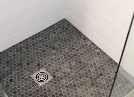 flooring white hexagon floor tile favored riveting modern