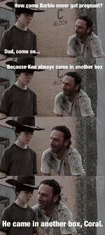 100 Funny Truck Driver Jokes 31 Of The Best Dad Jokes Told By Walking Deads Rick Grimes TheCHIVE