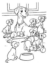 Free Colouring Pages 101 Dalmatians Disney World Coloring GetColoringPages