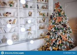 100 Tree Branch Bookshelves The Bedroom Decorated For Christmas Cozy Home Interior New