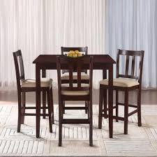 Kmart Kitchen Dinette Set by Essential Home Hayden 5 Piece Upholstered Dining Set Shop Your