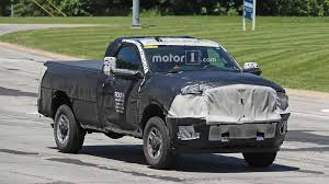 100 Single Cab Trucks NextGen Ram 2500 Spied Looking Ready To Work In Body