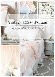 Lush Decor Serena Bedskirt by Vintage Little Girls Room Reveal Rooms For Rent Blog U0027s