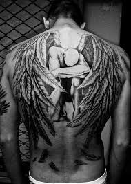 Angel Tattoos For Men Back Photo This Was Uploaded By Basher FiveTwo Find Other