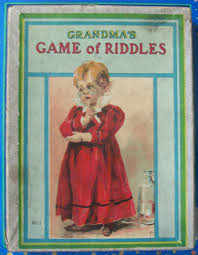 Halloween Riddles Adults And Answers by Milton Bradley U0027s Old 1910 Grandma U0027s Game Of Riddles U2013 All About