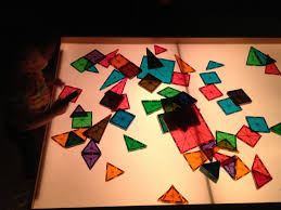 Magna Tiles Master Set by Train Table Turned Light Table Pahm Inspired Light Box