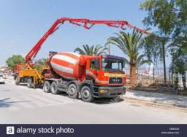 A Concrete Pump And Cement Mixer MAN Truck Working Together In ... Concrete Truckmixer Concrete Pump Mk 244 Z 80115 Cifa Spa Buy Beiben Pump Truckbeiben Truck China Hot Sale Xcmg Hb48c 48m Mounted 4x2 Small Mixer And Foton Komatsu Pc200 Convey For Cstruction Pumps Pumps For Sale New Zealand Man Schwing S36 X Used Price Large Saleused Truck 28v975 Truck1 Set Small Sany