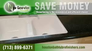 Bathtub Reglazing Houston Texas by New Generation Refinishing Google
