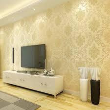 Self Adhesive Wallpaper Popular European Damask Style Wallpapers Home Decor Film Wall Paper DIY 3D Roll