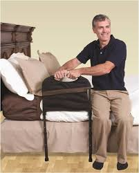 stander mobility home bed rail adjustable swing out hand rail