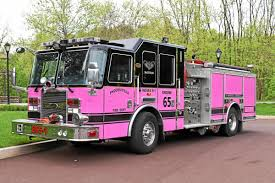 100 Pink Fire Trucks Phoenixville Fire Engine Goes Pink To Support Cancer News