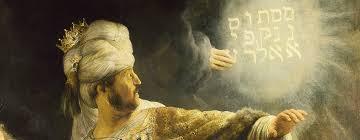 Hebrew Myths 101 Rembrandt Belsazar