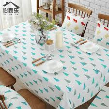Get Quotations Christmas Tree American Coffee Table Linen Tablecloth Fabric Modern Minimalist Small Fresh Bar Dining Mat