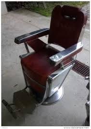Emil J Paidar Barber Chair Headrest by Rare Vintage Takara Belmont Barber Chair 1950s 2 Chairs