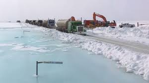 100 Ice Road Trucking The Ice Road Truckers Putting Alaska On The Trade Map CNN