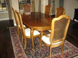 Thomasville Table Beautiful Cane Back Dining Room Chairs Contemporary With Captivating Trend