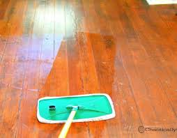 Buffing Hardwood Floors To Remove Scratches by Shine Dull Floors In Minutes Chaotically Creative