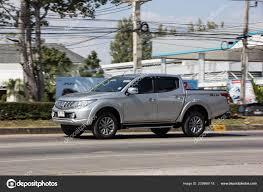 100 Mitsubishi Pickup Truck Chiangmai Thailand November 2018 Private Car Triton