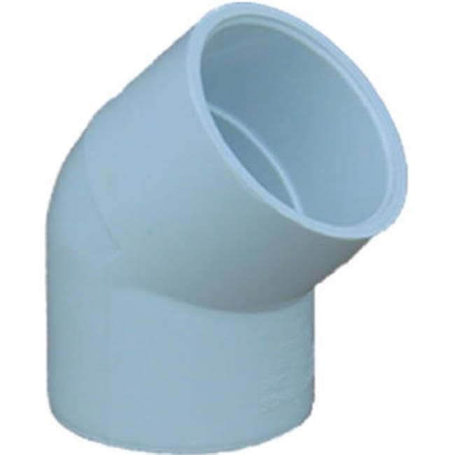 Genova PVC Elbow - 45 Degree, 1.5""