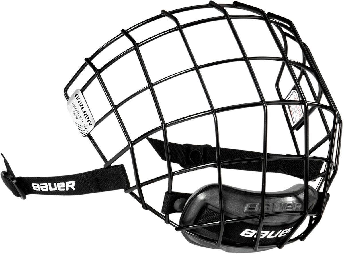 Bauer Profile II Hockey Facemask - Black, Large