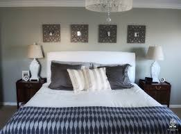 A Calm And Chic Bedroom Design With Pier 1 Black Wall Frames