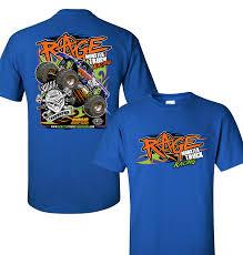 100 Monster Truck T Shirts Rage Shirt Hrowdown