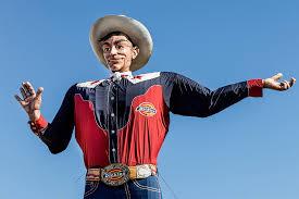 TX Dallas Big Tex Gone Iconic