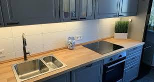 ikea küchenzeile bodbyn grau landhaus 3 00 mtr inkl montage