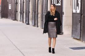 bikbok leather skirt and black boots style over function