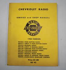 NOS Impala Parts :: Literature :: 1962 CHEVROLET RADIO SERVICE ... Nascar Impala Restoration Of One The Great Chevy Impalas To 01962 Long Bed Step Side Bolt Kit Zinc Gm Truck 1961 Gmc And Gm Parts Grill Components Upcomingcarshq Com Image Result For 1962 Chevrolet Viking Designs Of Rocky Mountain Relics Classic Trucks Gmc 1963 Brothers Garcia 66 Chevy C10 78 Front Suspension Swap Youtube Ck Sale Near Atlanta Georgia 30340 350 Engine Diagram 1995 Hot Wheels Custom Pickup Rarehtf 08 New Models Series Home Farm Fresh Garage