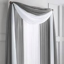 Jc Penney Curtains Chris Madden by Wholehome Md U0027silhouette Sheer U0027 Rod Pocket Panel Mid Century