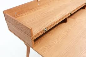 bureau convertible bureau design scandinave en bois et convertible emme dewarens